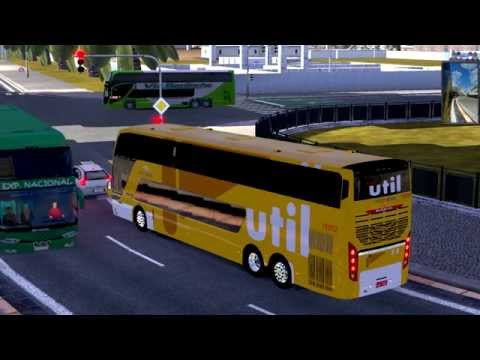 Euro Truck Simulator 2 Bus trip to Rabat with Busscar Panoramico DD FINAL