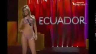 Miss Universe Ecuador 2000-2014 (Swimsuit competition)