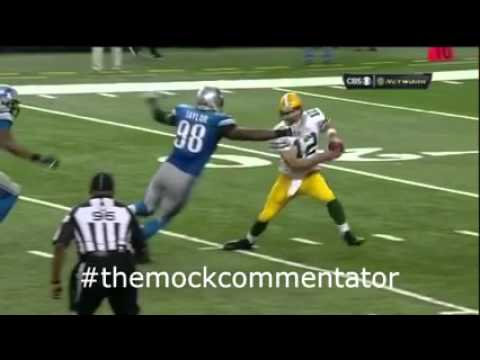 """NFL Aussie Mock Commentary: Packers v Lions Epic finish! """"Hail Mary"""" Miracle in Motown"""