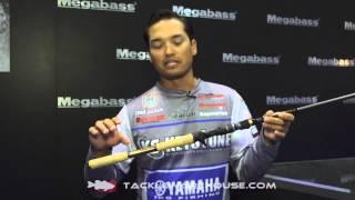 Megabass Tomahalk GTA Deep Crank Rod with Chris Zaldain   ICAST 2014