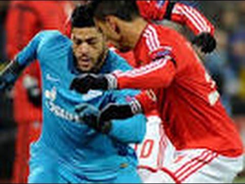 Benfica vs Zenit 1 - 0 All Goals & Highlights CL 16.02.2016