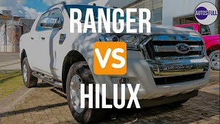 Ford Ranger Vs Toyota Hilux   Cual Es Mejor ?