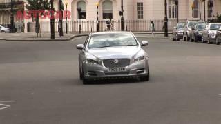 Jaguar XJ on the road - Autocar.co.uk