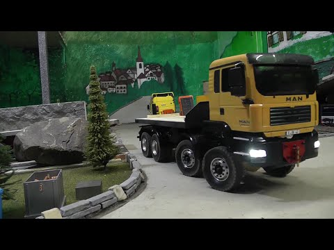RC CONSTRUCTION SITE, NEW RC MACHINES FOR CARRARA WORLD