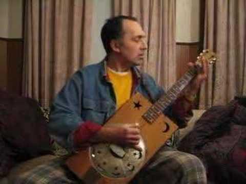 Bukka White JitterbugSwing Bottleneck Blues Cigar Box Guitar
