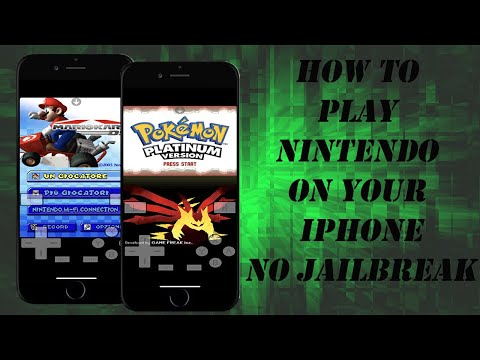 HOW TO PLAY NINTENDO DS GAMES ON YOUR IPHONE | NO JAILBREAK | NO COMPUTER