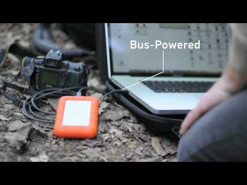 LaCie Rugged USB 3.0 Thunderbolt Series - Meeting the Deadline