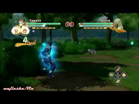 Naruto Ultimate Ninja Storm 3 All Characters Tilt Moves Compilation