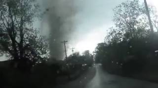 Girl Picked Up by Tornado in Her Car