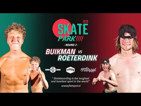 Game of SKATEpark 2020 - Game #12 - Bart Buikman vs Bert Roeterdink