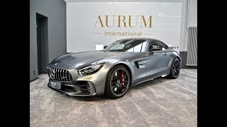 MERCEDES-BENZ AMG GT R *SELENITGRAU MAGNO* Walkaround by AURUM International