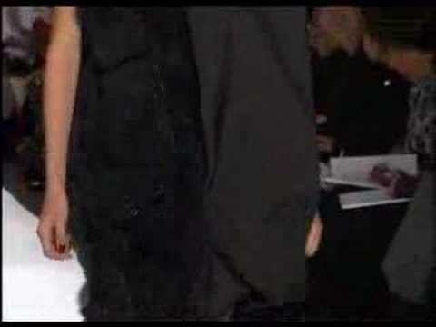 Vera Wang Fall Winter 2008 Full Show part1
