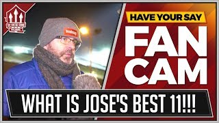 """""""MOURINHO Doesn't Know His Best 11"""" Huddersfield 0-2 Manchester United FANCAM"""