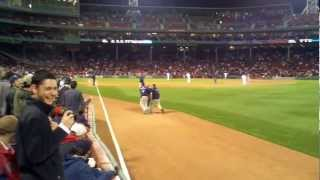 Drunk Baseball Fan Gets Knocked The F*ck OUT!!!