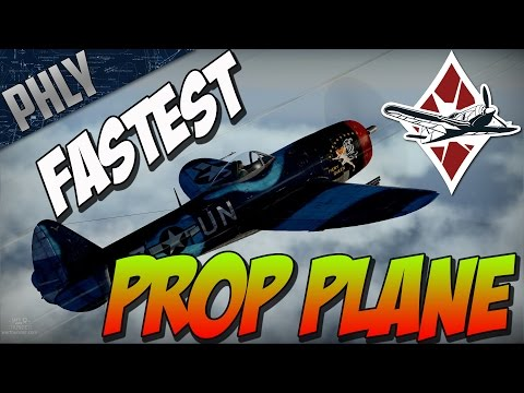 War Thunder Gameplay - P-47M Fastest Prop Plane IN GAME!