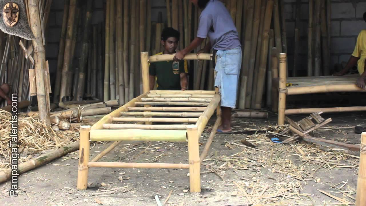 building bamboo furniture