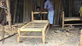 Bamboo furniture maker in Pampanga Philippines