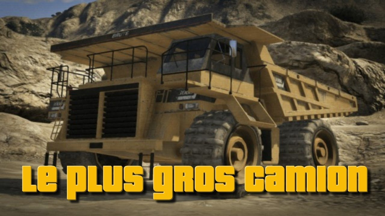 gta v trouver le plus gros camion youtube. Black Bedroom Furniture Sets. Home Design Ideas