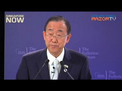Ban Ki-moon: UN has much to learn from Singapore
