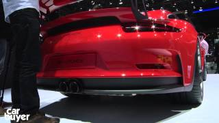 Porsche 911 GT3 RS - Carbuyer at the Geneva Motor Show