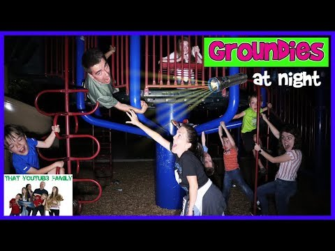 Download Groundies At Night - Playground Wars / That YouTub3 Family Mp4 baru