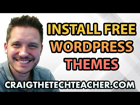 0 How To Download, Install and Activate Free Wordpress Themes