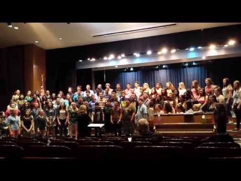 William Floyd High School Concert Choir - May 20, 2014