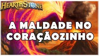 HEARTHSTONE - A MALDADE NO CORAÇÃOZINHO! (STANDARD ELEMENTAL TEMPO ROGUE)