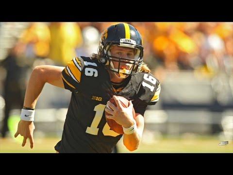 Iowa Qb C J Beathard 2015 Highlights