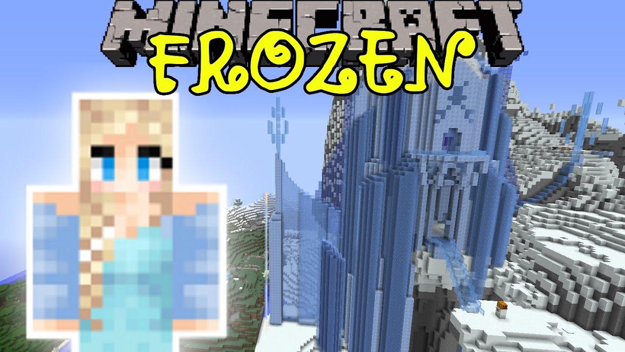 Minecraft Frozen Custom Map