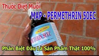 Thuốc Diệt Muỗi MAP PERMETHRIN 50EC CHÍNH HÃNG Hướng Dẫn Kiểm Soát Côn Trùng