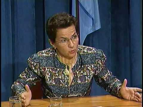 Christiana Figueres, candidate for the position of Executive Secretary for UNFCCC