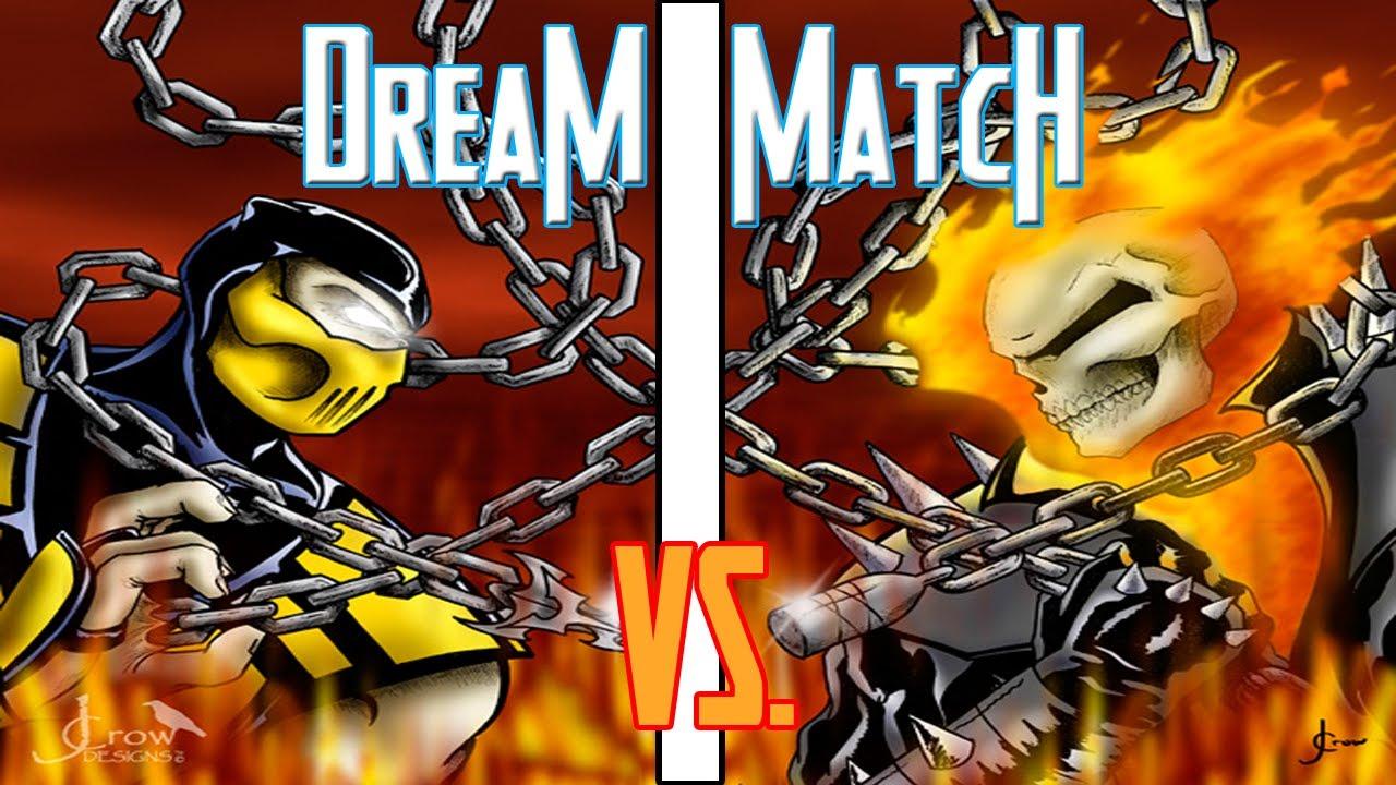 Dream Match - Scorpion vs Ghost Rider - YouTube