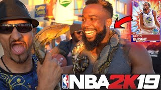 Letting Random Pedestrians On Venice Beach Draft My 99 Overall Team! NBA 2K19