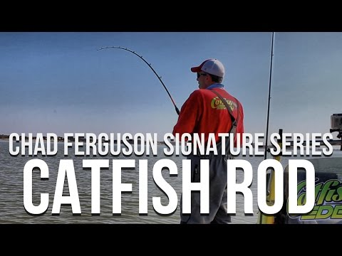 Chad Ferguson Signature Series Catfish Rod by Whisker Seeker Tackle