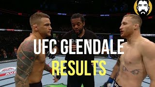 UFC Glendale Results: Dustin Poirer vs. Justin Gaethje | Post-Fight Special | Luke Thomas