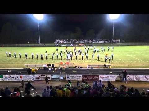 Eastern Alamance High School Marching Band- Halftime show Eastern Alamance vs. Williams High School