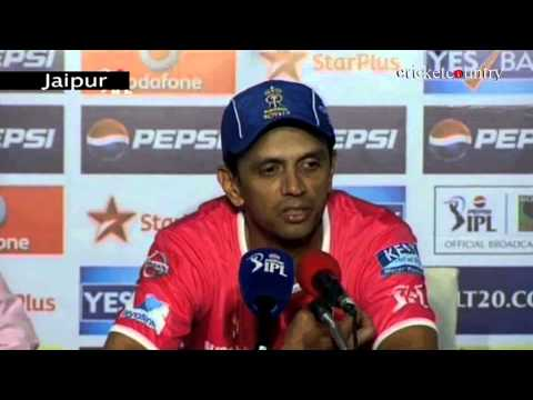 IPL 2013: Rahul Dravid praises Shane Watson after whirlwind knock against Chennai