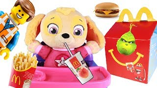 Paw Patrol Skye Happy Meal at McDonald's with The Lego Movie 2 Toys Videos For Kids