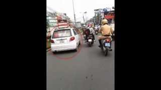 ha noi 1772013 canh sat truy duoi o to nhu phim hanh dong