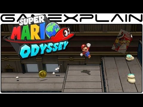 Super Mario Odyssey - Exploring More New Donk City & City Hall Interior (Nintendo Switch Gameplay)