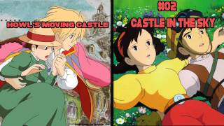 Top 5 Animes Similar to Howl's Moving Castle