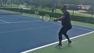 7-Month Pregnant Serena Williams Sends WARNING to Competition in New Video