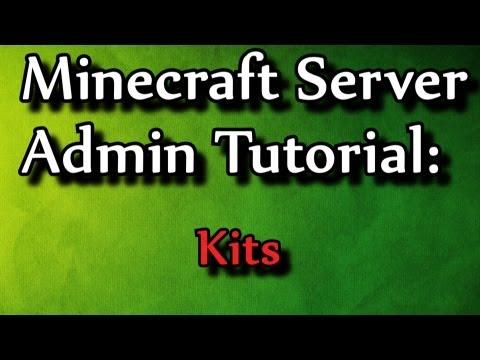 Minecraft Admin How-To: Kits (/kit command)