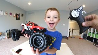 Father & Son GET CRAZY RC MONSTER TRUCK!