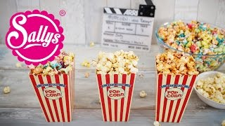 Regenbogen Popcorn / Grundrezept / Basics / süß & herzhaft / Karamell-Vanille