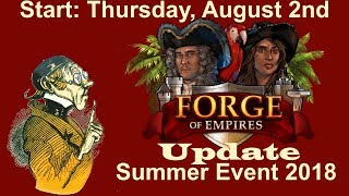 FoEhints: Update for the Summer Event 2018 in Forge of Empires