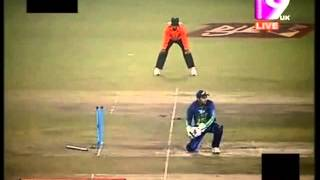 Mushfiqur Rahim Brilliant Acrobatic Wicket Keeping !!