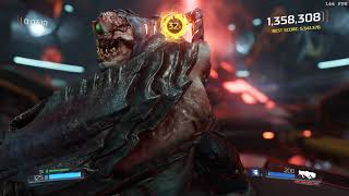 DOOM (2016) Argent Energy Tower. Arcade Mode. Ultra Nightmare: Slayer Rank