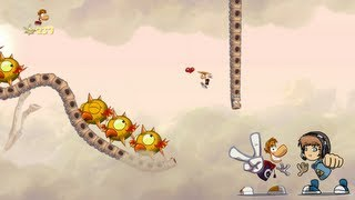 24 - Acrobaties aériennes ! - Rayman Origins - Diablox9's playing